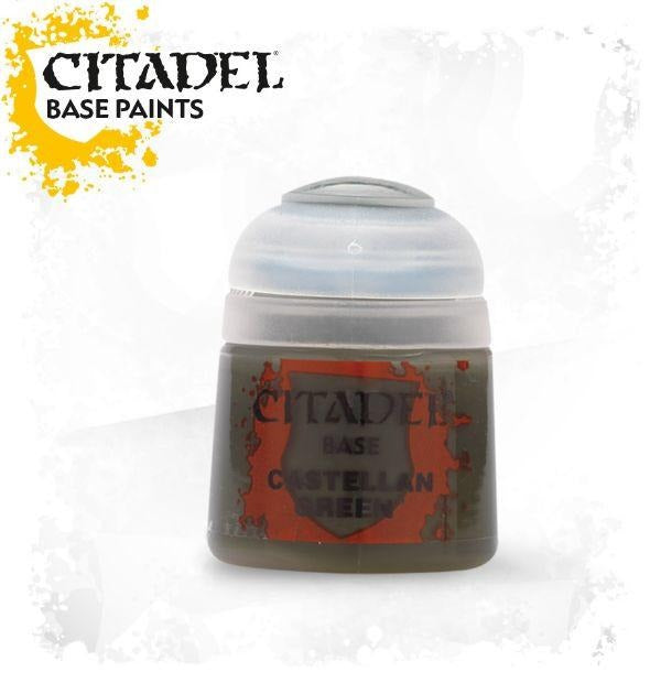 Castellan Green: Citadel Base Paints GAW 21-14-S