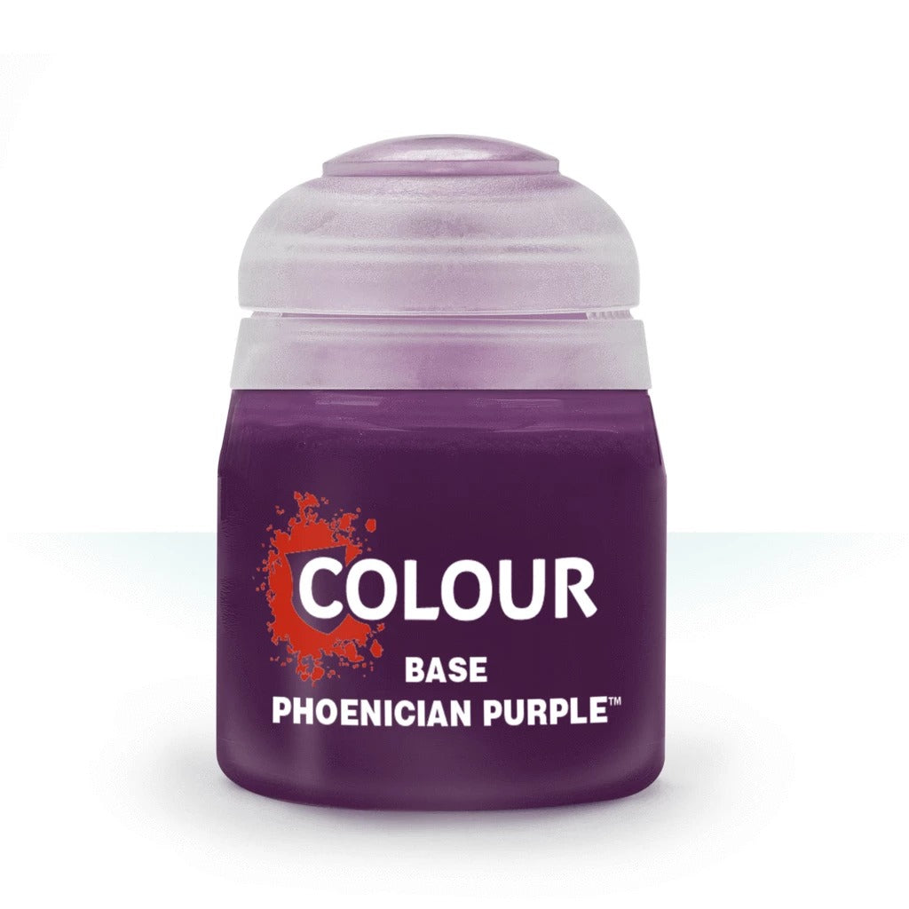 Phoenician Purple: Citadel Base Paints GAW 21-39-S