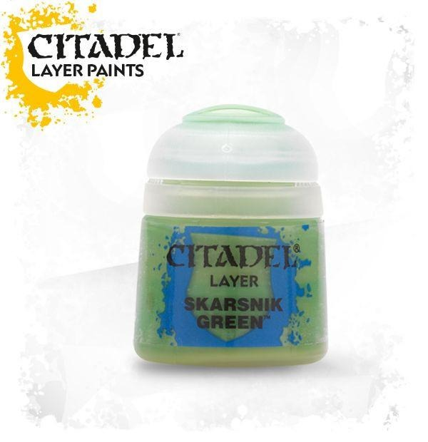 Skarsnik Green: Citadel Layer Paints GAW 22-26-S