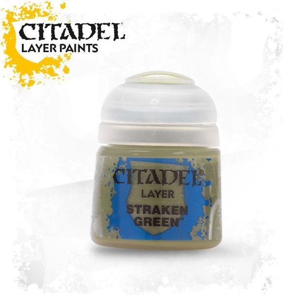 Straken Green: Citadel Layer Paints GAW 22-28-S