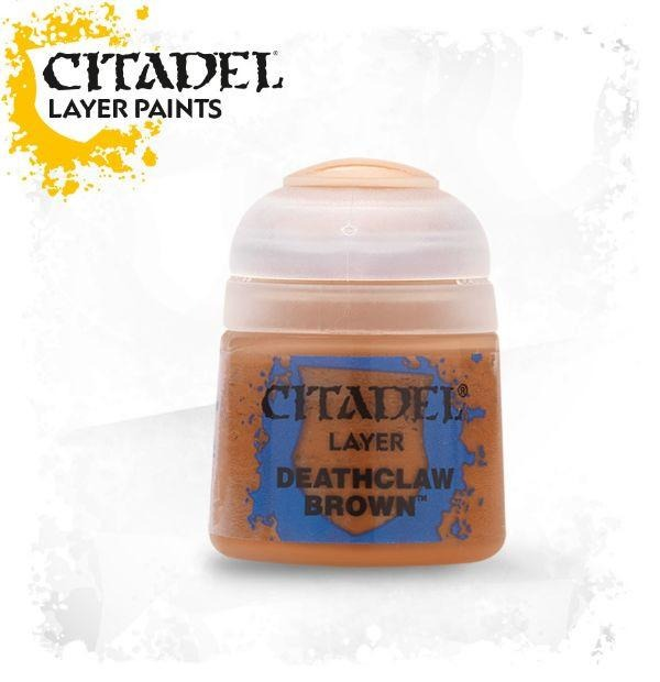 Deathclaw Brown: Citadel Layer Paints GAW 22-41-S