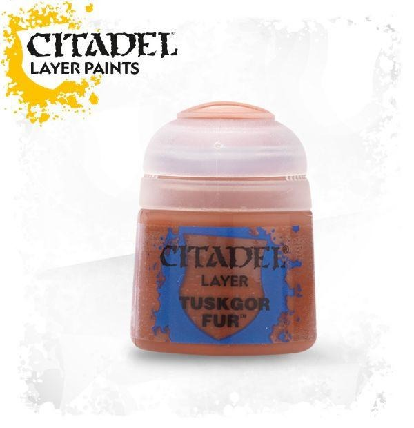 Tuskgor Fur: Citadel Layer Paints GAW 22-46-S