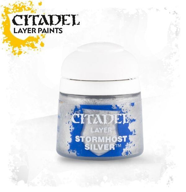 Stormhost Silver: Citadel Layer Paints GAW 22-75-S