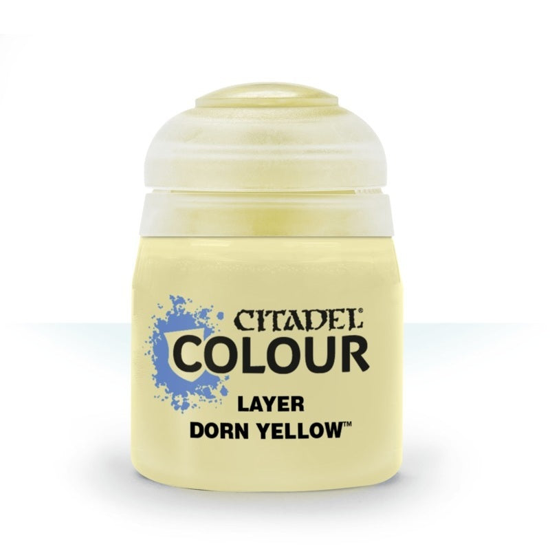 Dorn Yellow: Citadel Layer Paints GAW 22-80-S