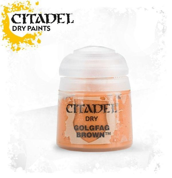 Golgfag Brown: Citadel Dry Paints GAW 23-26-S