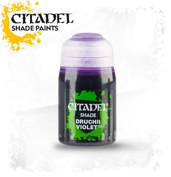 Druchii Violet: Citadel Shade Paints (24ml) GAW 24-16-S