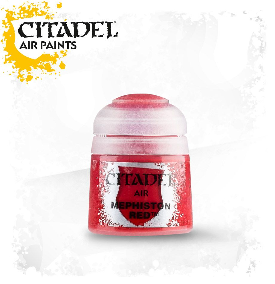 Mephiston Red: Citadel Air Paints GAW 28-02-S Tall Pot