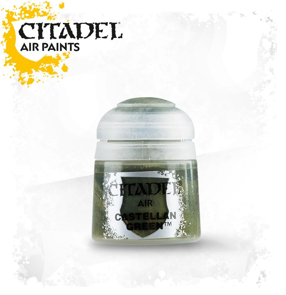 Castellan Green: Citadel Air Paints GAW 28-08-S Tall Pot