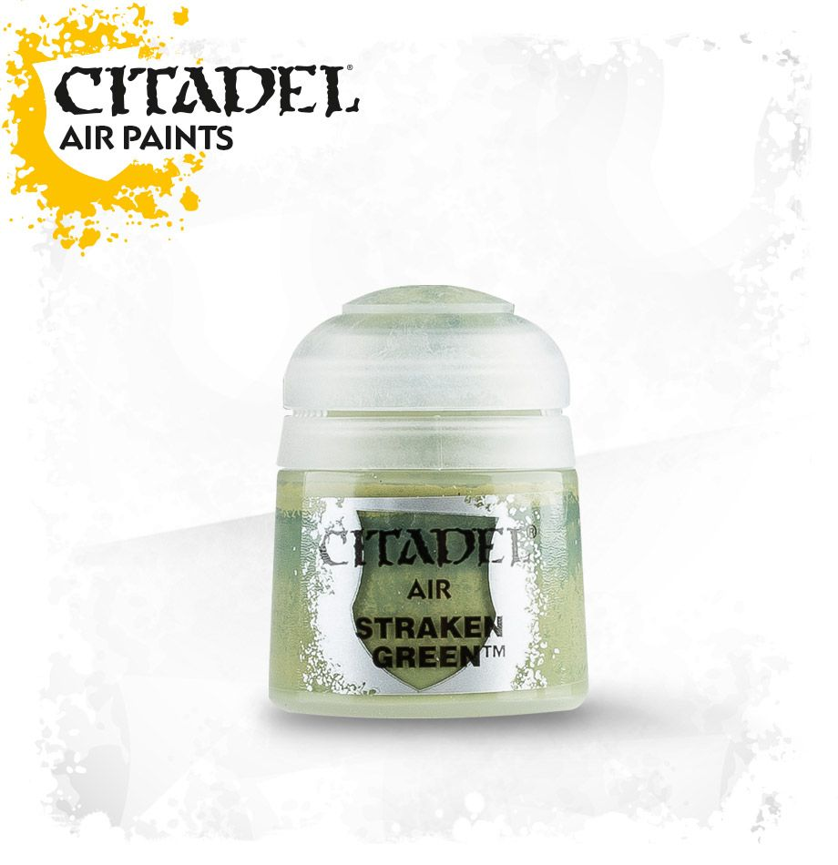 Straken Green: Citadel Air Paints GAW 28-30-S Tall Pot