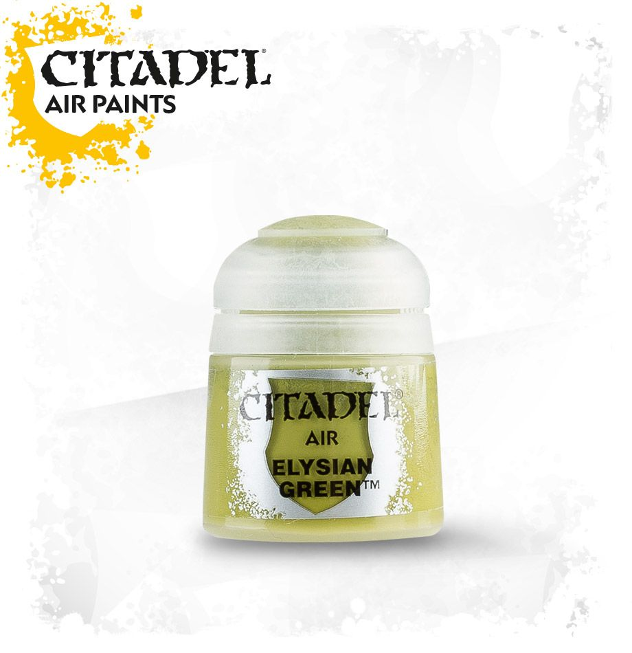 Elysian Green: Citadel Air Paints GAW 28-31-S Tall Pot