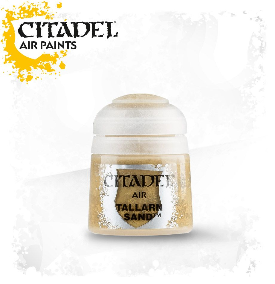 Tallarn Sand: Citadel Air Paints GAW 28-35-S Tall Pot