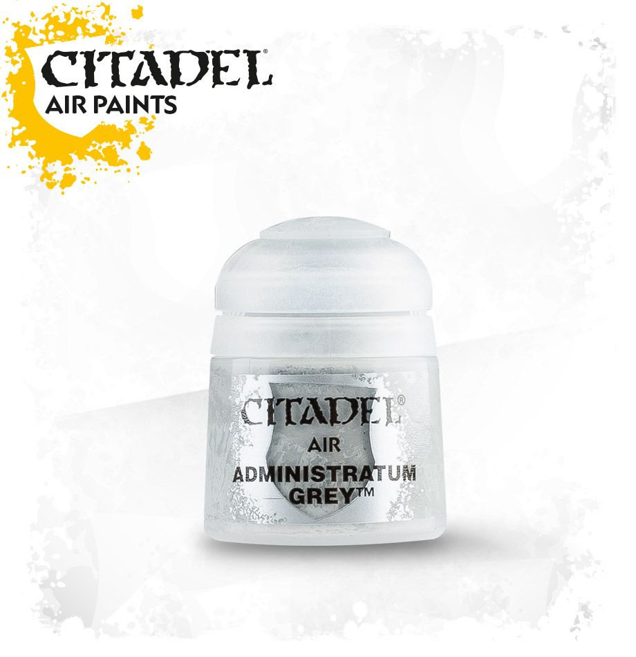 Administratum Grey: Citadel Air Paints GAW 28-44-S Tall Pot