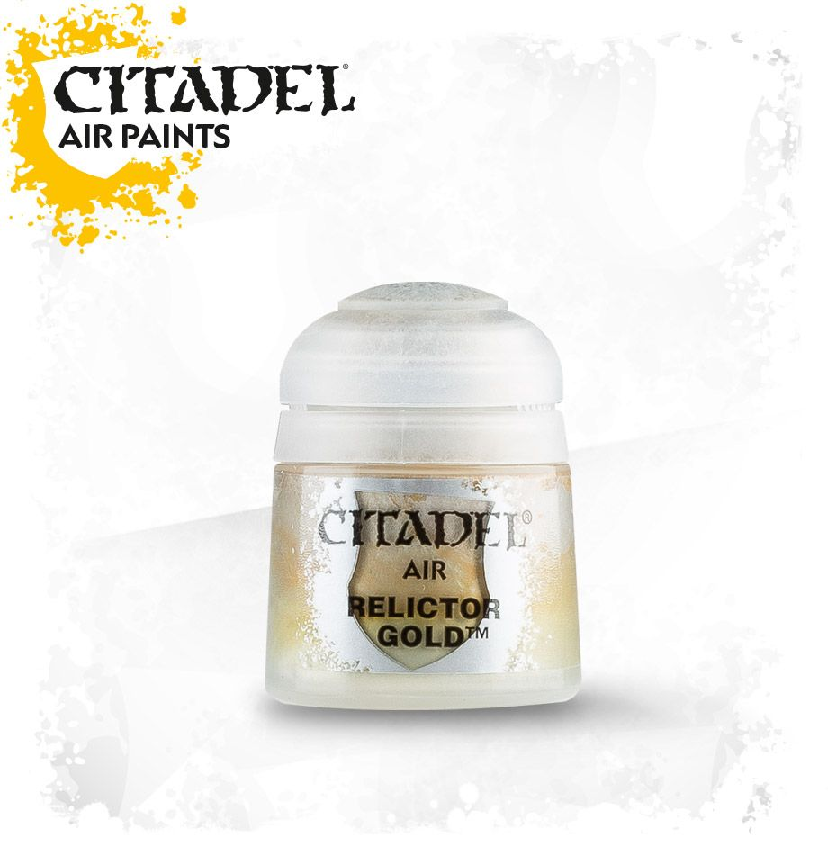Relictor Gold: Citadel Air Paints GAW 28-49-S Tall Pot