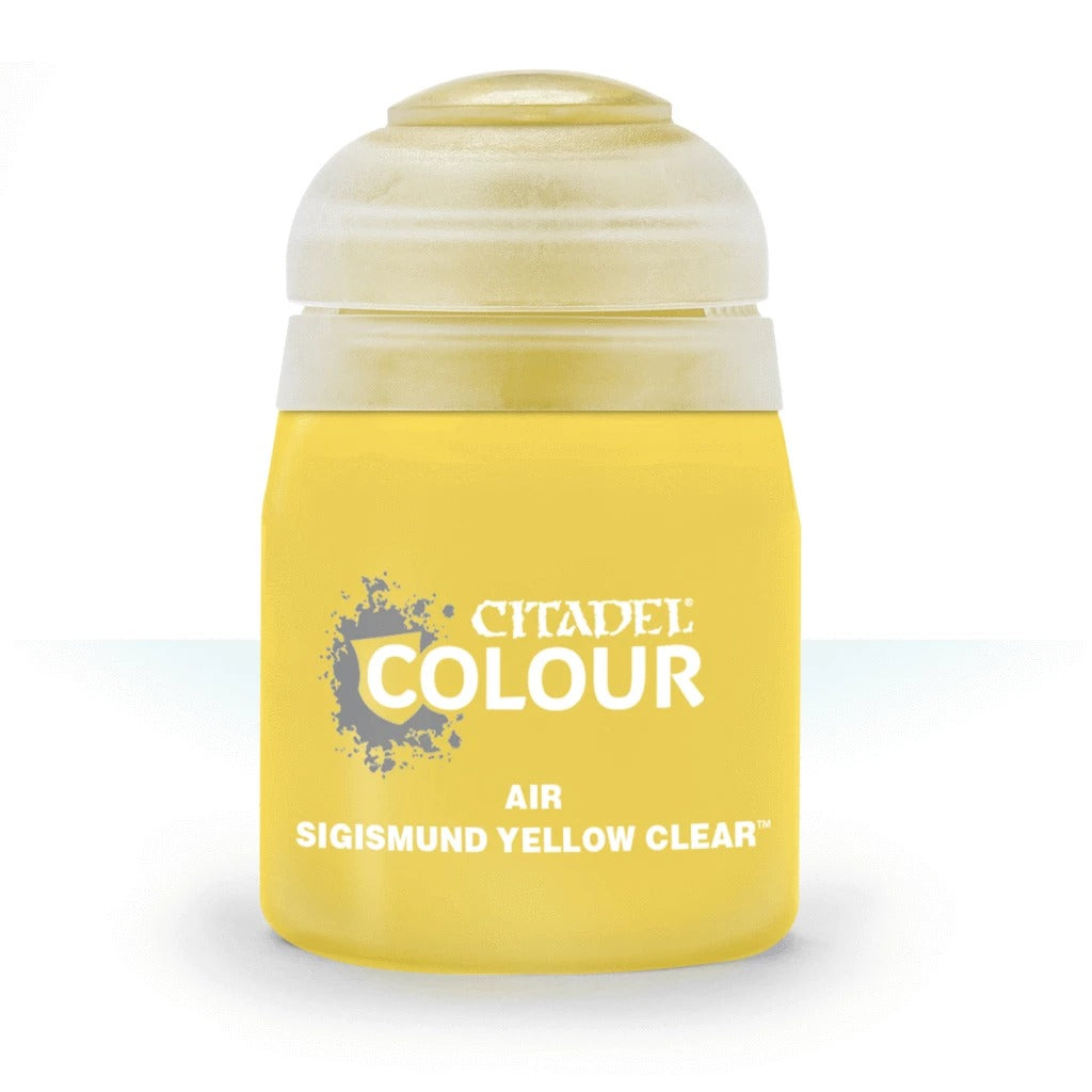 Sigismund Yellow Clear: Citadel Air Paints (24ml) GAW 28-62-S