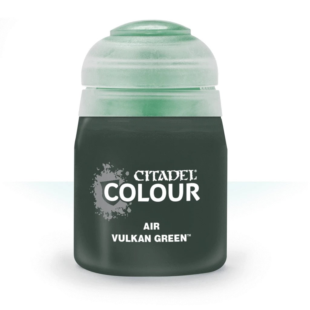 Vulkan Green: Citadel Air Paints(24ml) GAW 28-65-S