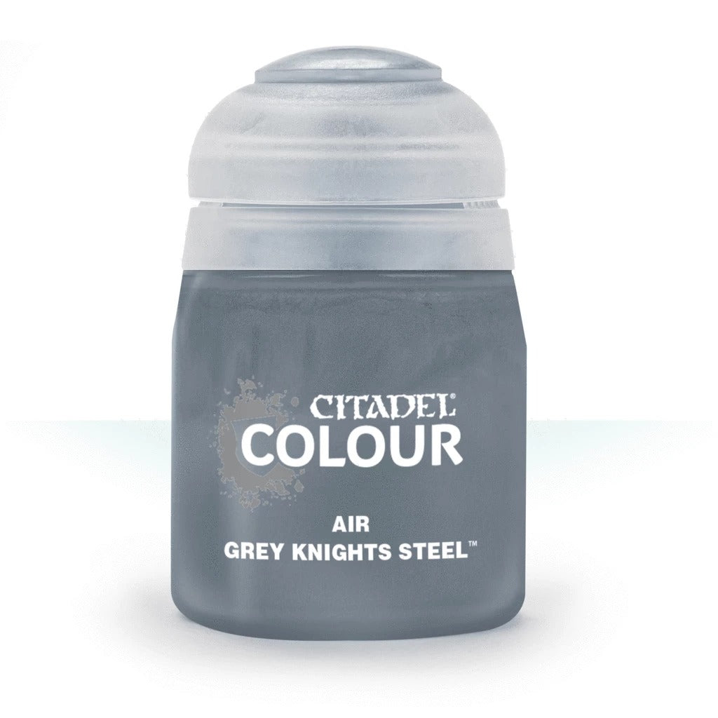 Grey Knights Steel: Citadel Air Paints (24ml) GAW 28-79-S