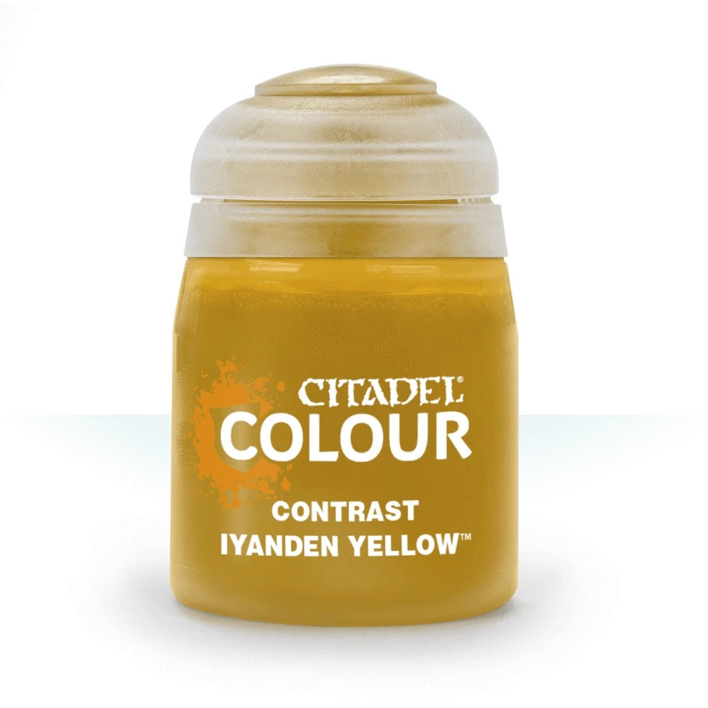 Iyanden Yellow: Citadel Contrast Paints (18ml) GAW 29-10-S