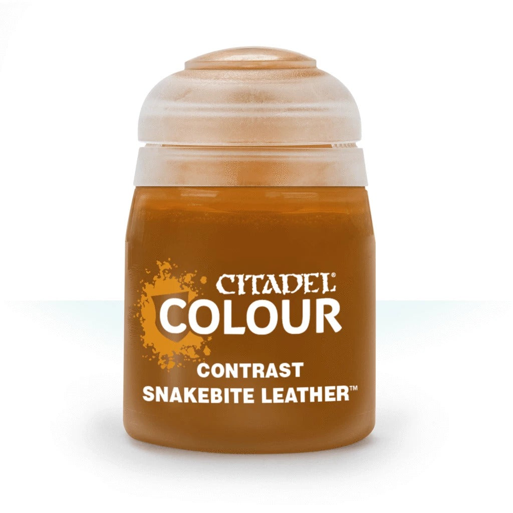 Snakebite Leather: Citadel Contrast Paints (18ml) GAW 29-27-S