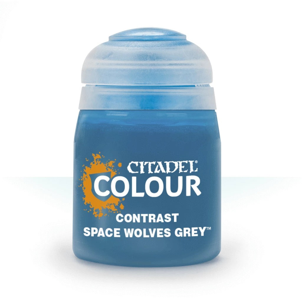 Space Wolves Grey: Citadel Contrast Paints (18ml) GAW 29-36-S