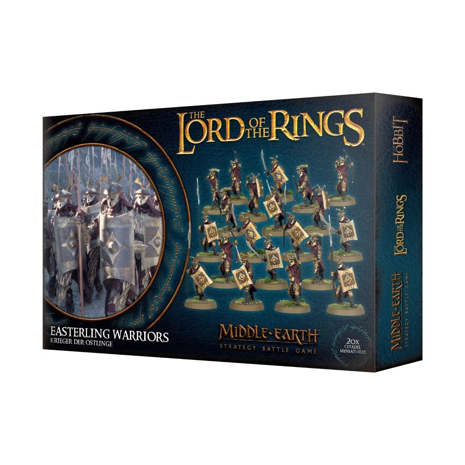 Easterling Warriors: LOTR,  Middle-Earth SBG GAW 30-31