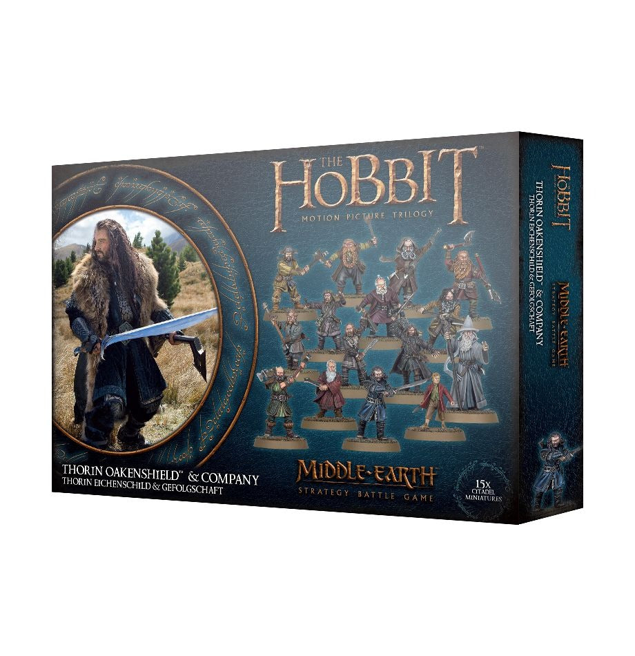 Thorin Oakenshield & Company: LOTR,  Middle-Earth SBG GAW 30-42