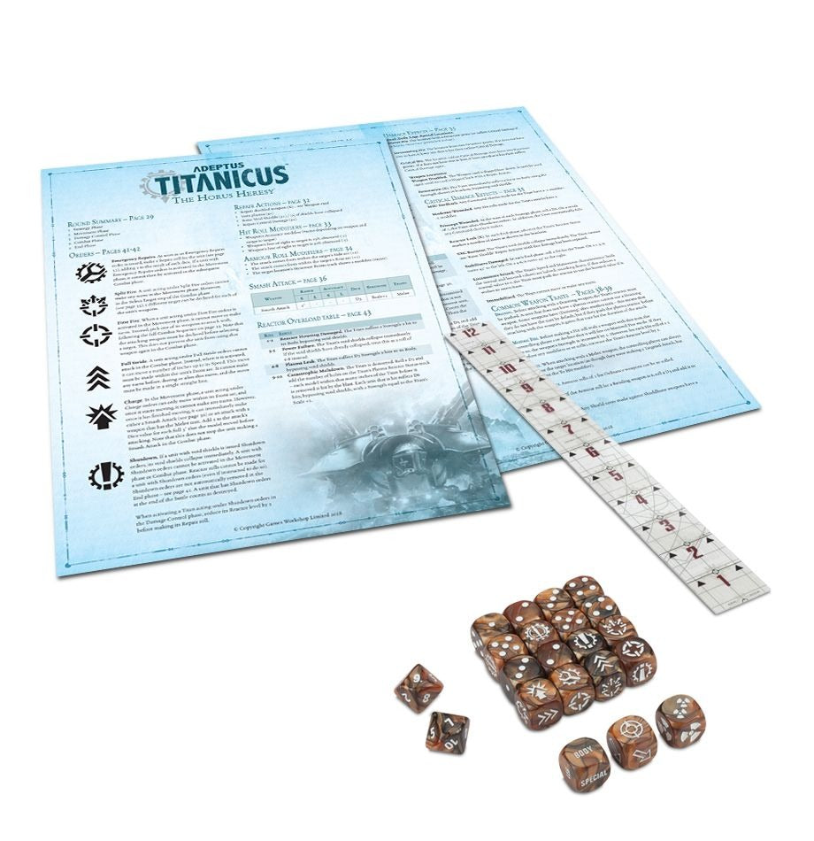 Adeptus Titanicus: The Horus Heresy Rules Set GAW 400-15-60