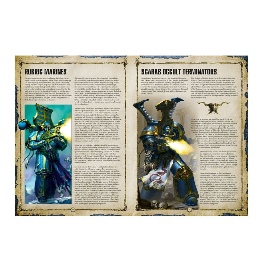 Codex: Thousand Sons - Heretic Astartes GAW 43-09-60