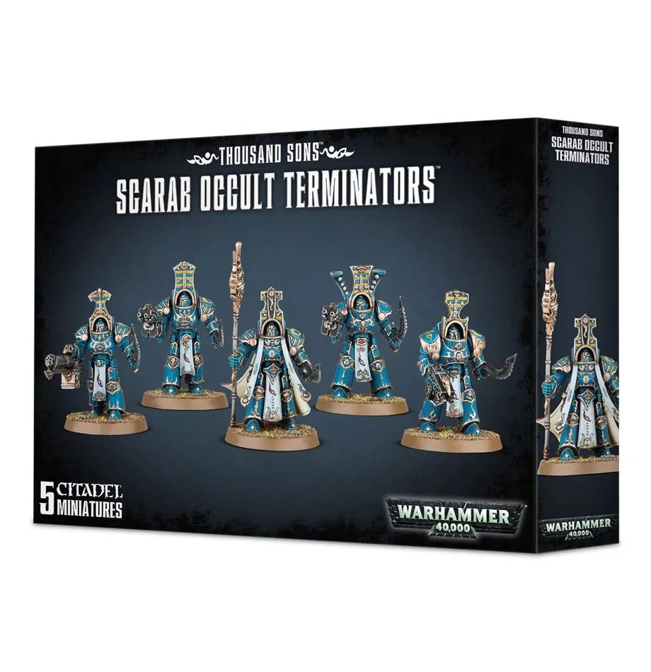 Scarab Occult Terminators: Thousand Sons GAW 43-36