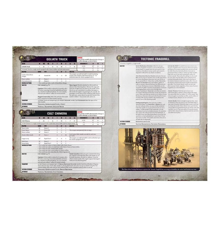 Codex: Genestealer Cults (Hardcover) GAW 51-40-60