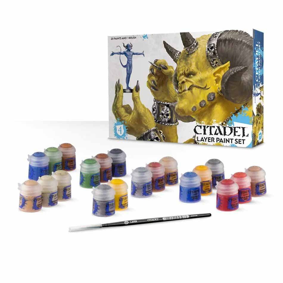 Citadel: Layer Paint Set GAW 60-25
