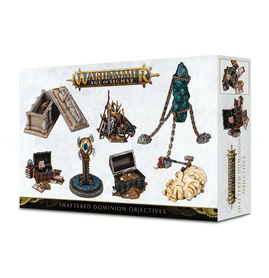 Shattered Dominion Objectives: Warhammer Age of Sigmar GAW 65-16