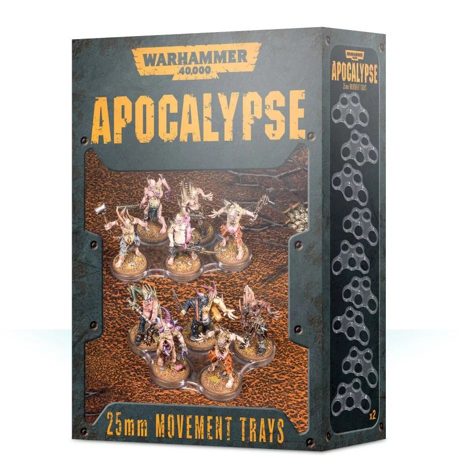 Apocalypse 25mm Movement Trays GAW 65-22