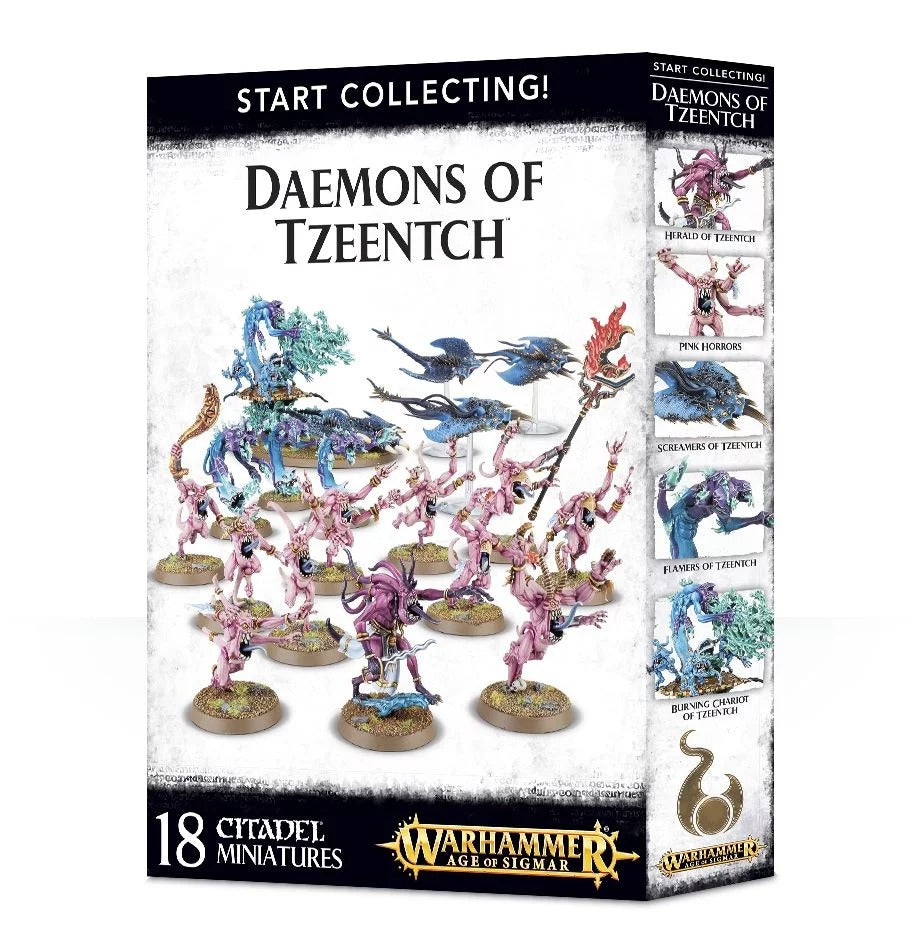 Start Collecting! Daemons of Tzeentch GAW 70-84