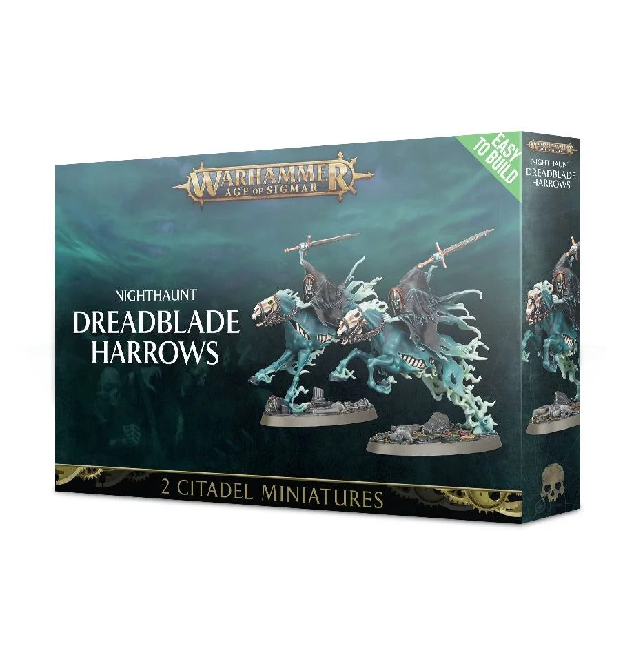 Easy to build: Dreadblade Harrows, Nighthaunt GAW 71-15