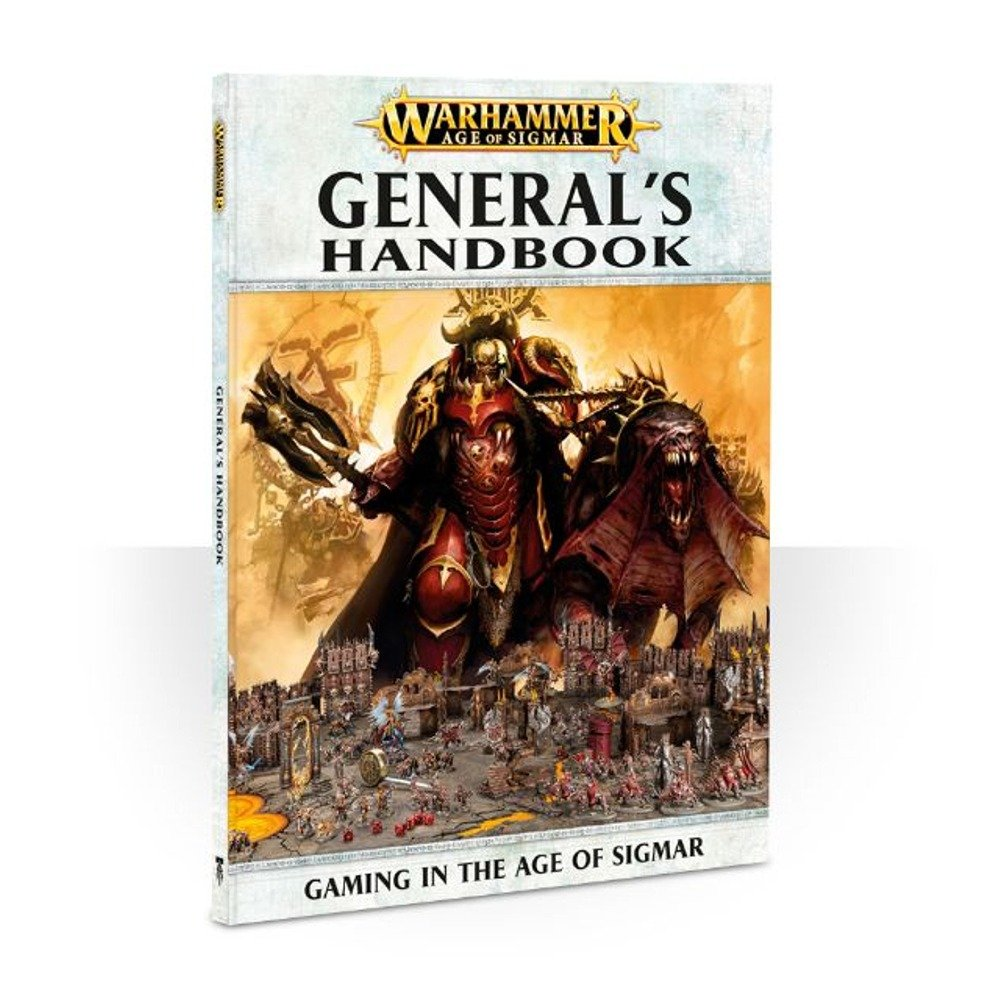 General's Handbook: Warhammer Age of Sigmar (Softcover) GAW 80-14-60-2016