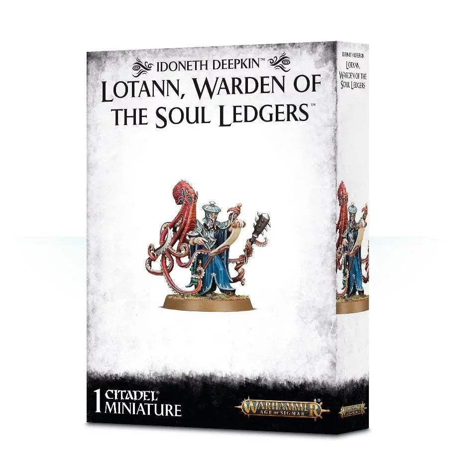 Lotann, Warden of The Soul Ledgers:  Idoneth Deepkin GAW 87-31