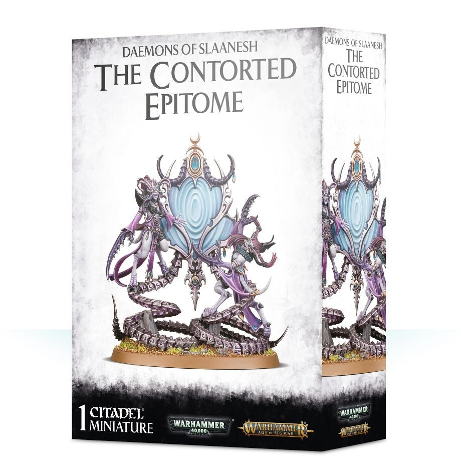 The Contorted Epitome: Daemons of Slaanesh GAW 97-48