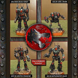 Black Widow Company Lance: BattleTech - Mech Pack IWM 10-035