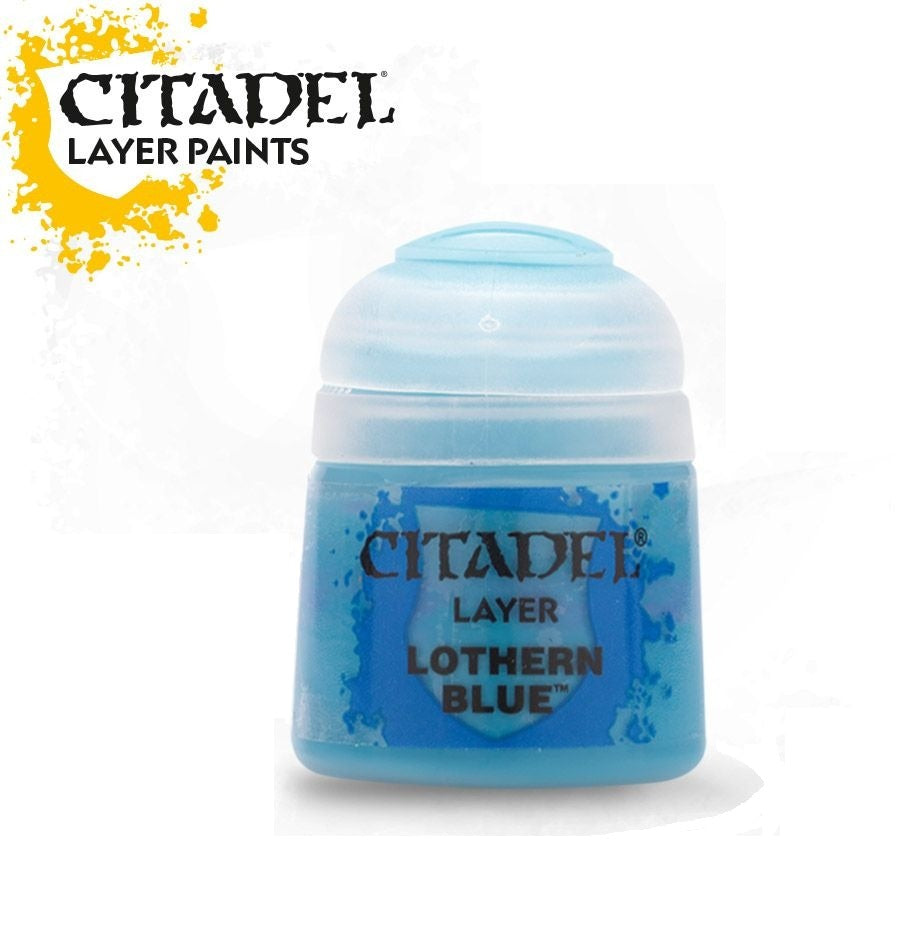 Lothern Blue: Citadel Layer Paints GAW 22-18-S