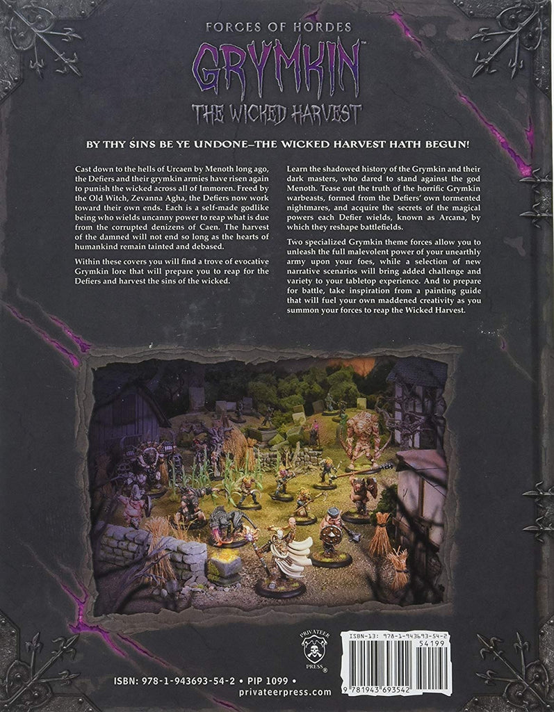 Grymkin - The Wicked Harvest: Forces of Hordes (Hardcover) PIP 1099