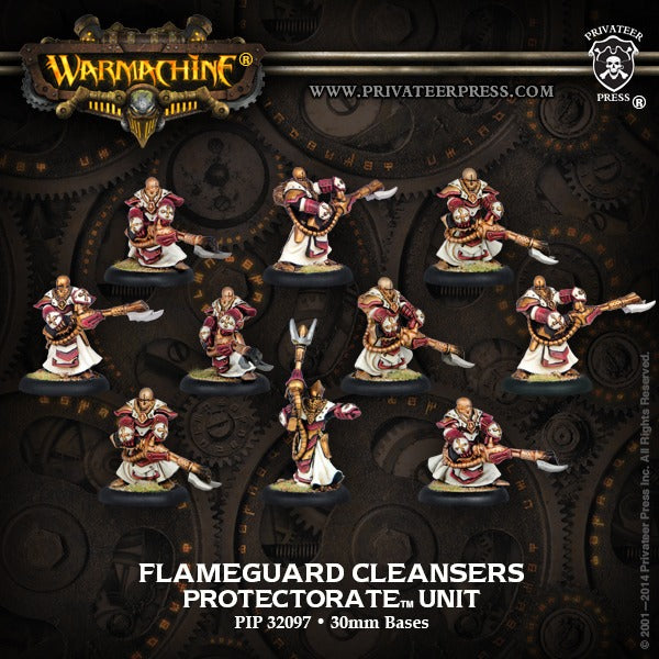 Flameguard Cleansers: Protectorate - Unit PIP 32097