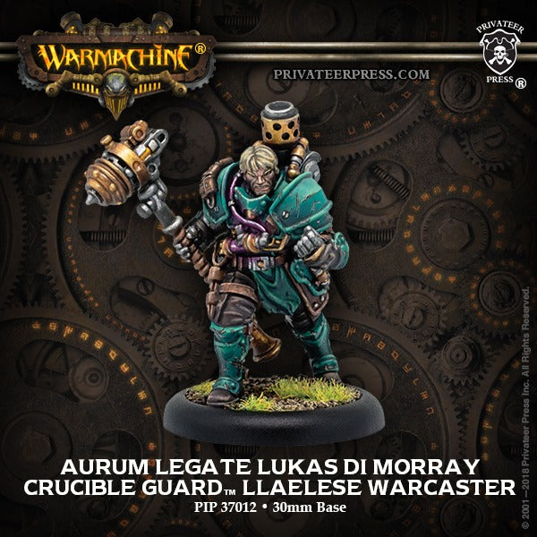 Aurum Legate Lukas di Morray: Crucible Guard - Warcaster PIP 37012