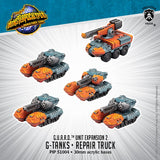 G-Tanks & Repair Truck: Monsterpocalypse - G.U.A.R.D. (Unit Expansion 2) PIP 51004
