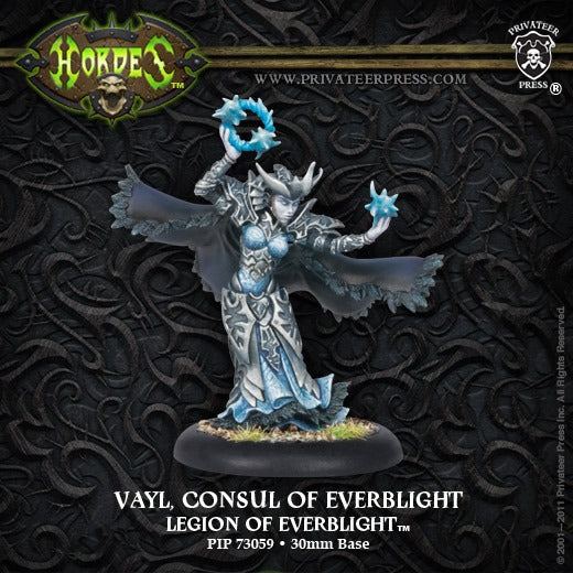 Vayl, Consul of Everblight: Legion of Everblight - Warlock PIP 73059