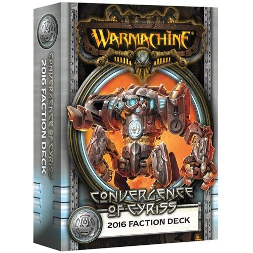 Convergence of Cyriss - 2016 Faction Deck (Mk III): Warmachine PIP 91108