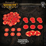 Khador Token Set: Warmachine PIP 91117