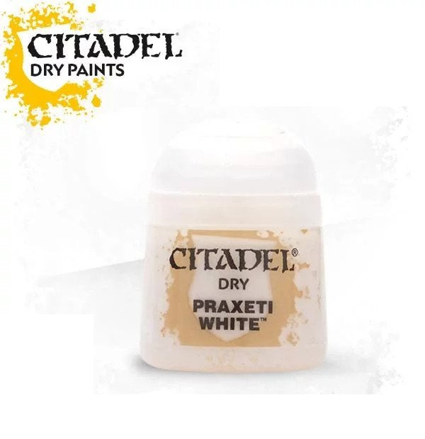 Praxeti White: Citadel Dry Paints GAW 23-04-S