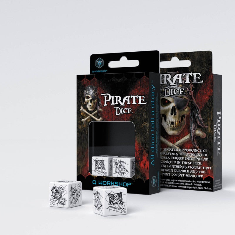 Pirate 2D6 Dice (2) QWS 26PIR02