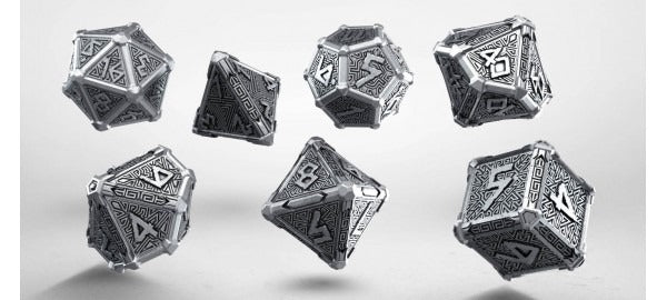 Metal Mythical Dice Set (7) QWS SMMY35