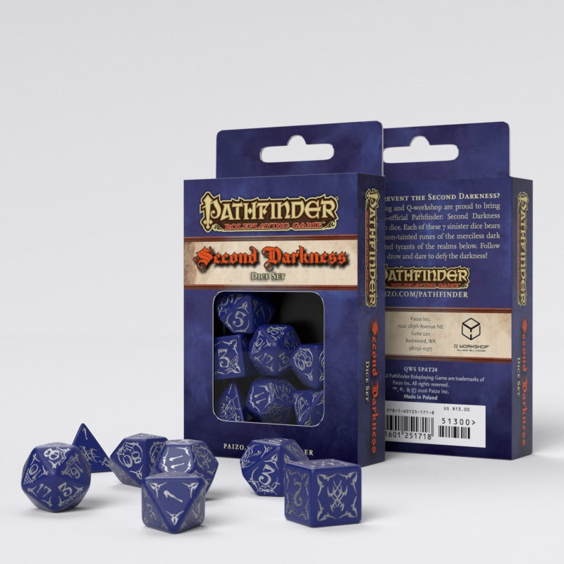 Pathfinder Second Darkness Dice Set (7)QWS SPAT24